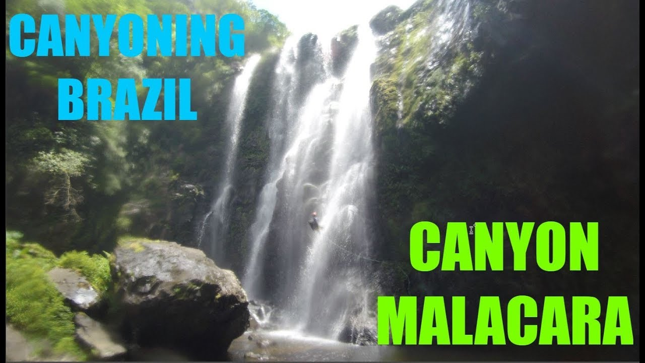 Canyoning at Malacara - Marvelous Canyon in Brazil
