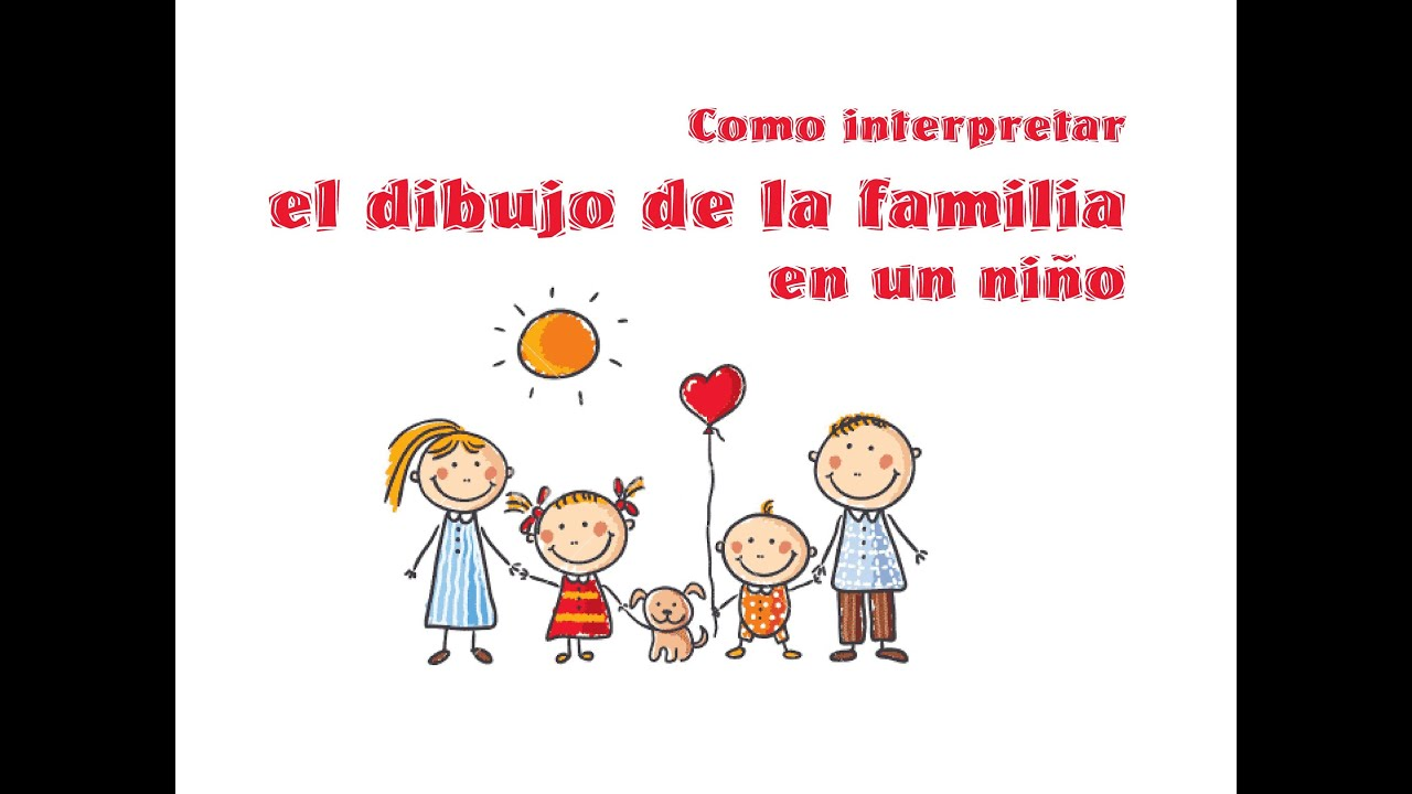 Como interpretar el dibujo de la familia en un ni o youtube for Concepto de la familia para ninos