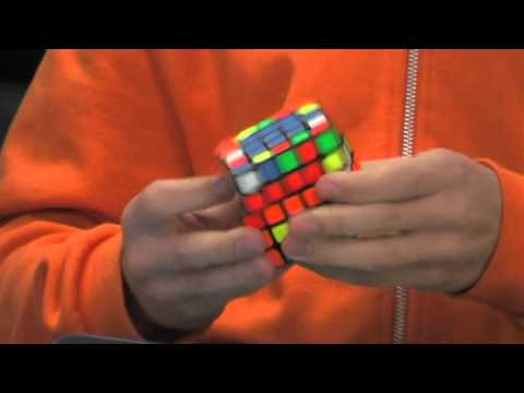 5x5 Rubik's cube former world record single 51 31, former world record  average 57 64
