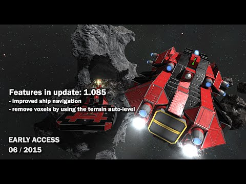 Space Engineers - Update 01.085: Improved Ship Navigation, Docking |