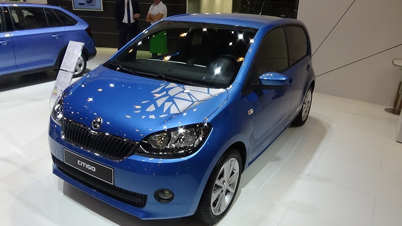 2017 skoda citigo fun 1 0 mpi green tec exterior and interior essen motor show 2016 youtube. Black Bedroom Furniture Sets. Home Design Ideas