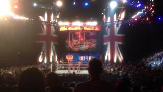 9   WWE RAW London 19 5 2014   Union Jacks & Rusev Segment plus Shield Promo