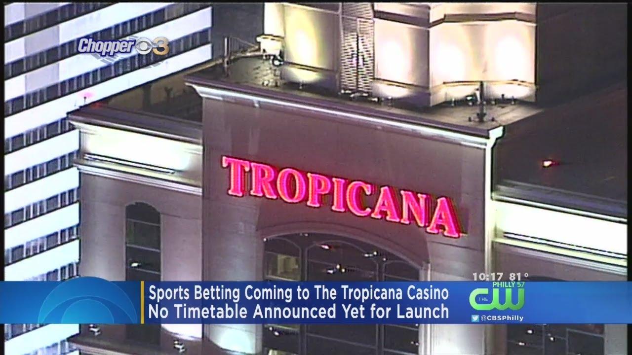 Tropicana Casino To Launch Sports Betting