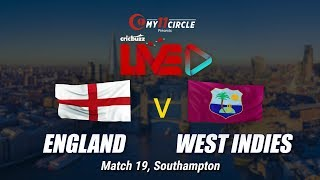 England v West Indies, Match 19: Preview
