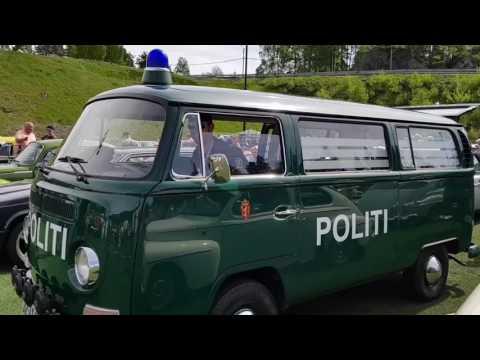 Original politibil fra 1970