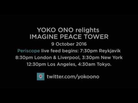IMAGINE PEACE TOWER 2016