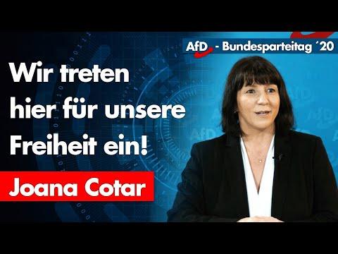 """""""Wir treten hier für unsere Freiheit ein!"""" - Joana Cotar"""
