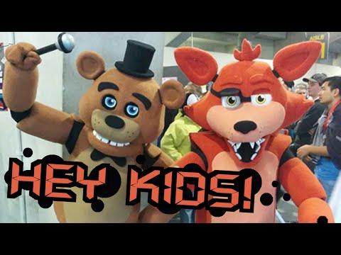 Building FNAF Costumes! (Freddy & Foxy)