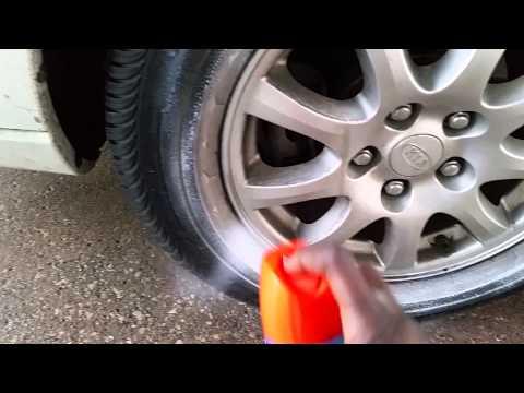 Clean tires no scrubbing part 1