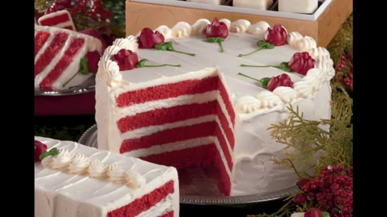 Red Velvet Cake Design Ideas : Simple Red velvet cake decorations ideas - YouTube