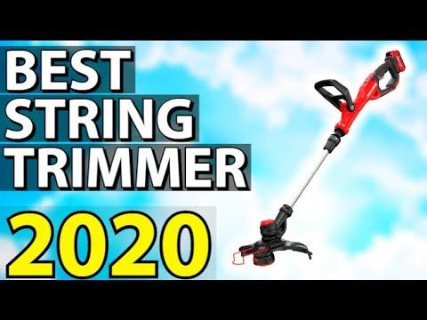 ✅ TOP 5: Best String Trimmer 2020