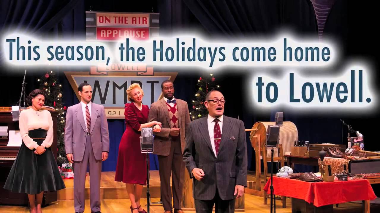 It 39 S A Wonderful Life A Live Radio Play At Merrimack Repertory Theatre Youtube