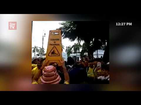 Bersih 4:  Live report from Jalan Hang Kasturi (Recorded earlier)