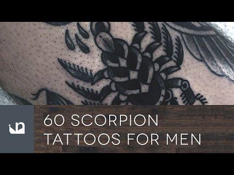 60 Scorpion Tattoos For Men