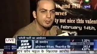 NALINY AT  SAHARA  SAMAY MUMBAI TV -INDIA