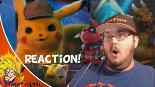 POKÉMON Detective Pikachu - Official Trailer #1 REACTION!!!