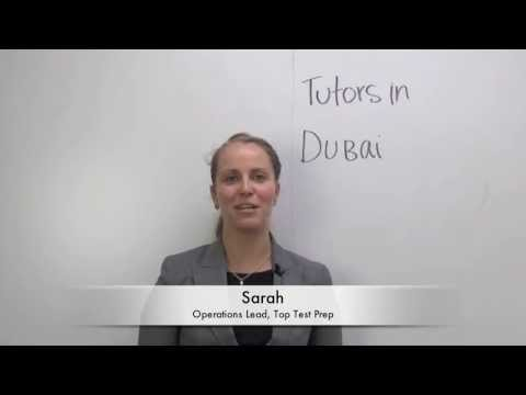 Dubai دبي Tutors مدرس | Ivy League | TopTestPrep.com