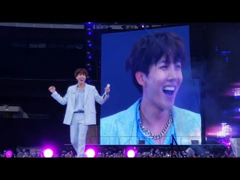 DAY 2 - 190602 Just Dance J-Hope @ BTS 방탄소년단 Speak Yourself Wembley Stadium London Concert Fancam