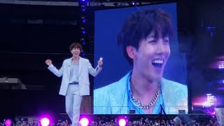 DAY 2 - 190602 Just Dance J-Hope @ BTS 방탄소년단 Speak Yourself Wembley Stadium London Concert Fancam