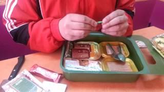 видео Армейские сухие пайки «Военторг»