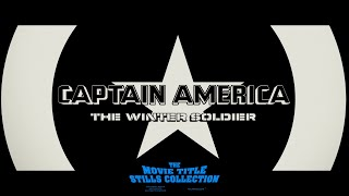 Captain America: The Winter Soldier (2014) main-on-end title sequence