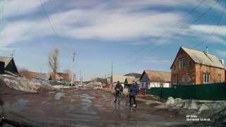 Щучинск. Дорога к карьерскому роднику (улицы Амангельды, Пригорная, Майская)
