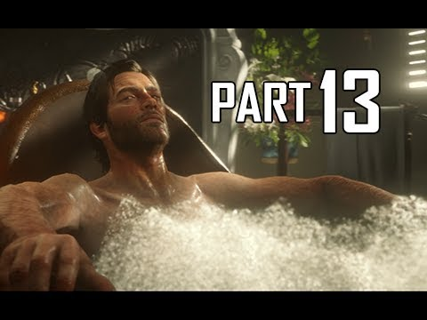 Red Dead Redemption 2 Walkthrough Gameplay Part 13 - Bath (RDR2 Let's Play)