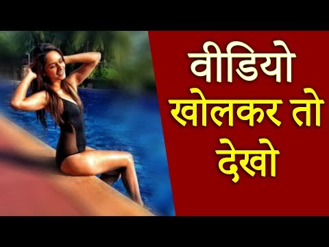 Manushi Chhillar ने बिकिनी पहन कर स्विमिंग पूल के किनारे दिखाई ऐसी अदाएं - आप बस देखते रह जाओगे