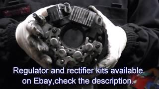 Repair of alternator for Hyundai Santa Fe,Trajet,Tuscon Also Kia Carens,Sportage.CRDi engines.