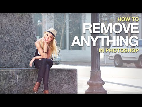 How to Remove Anything from a Photo in Photoshop  YouTube