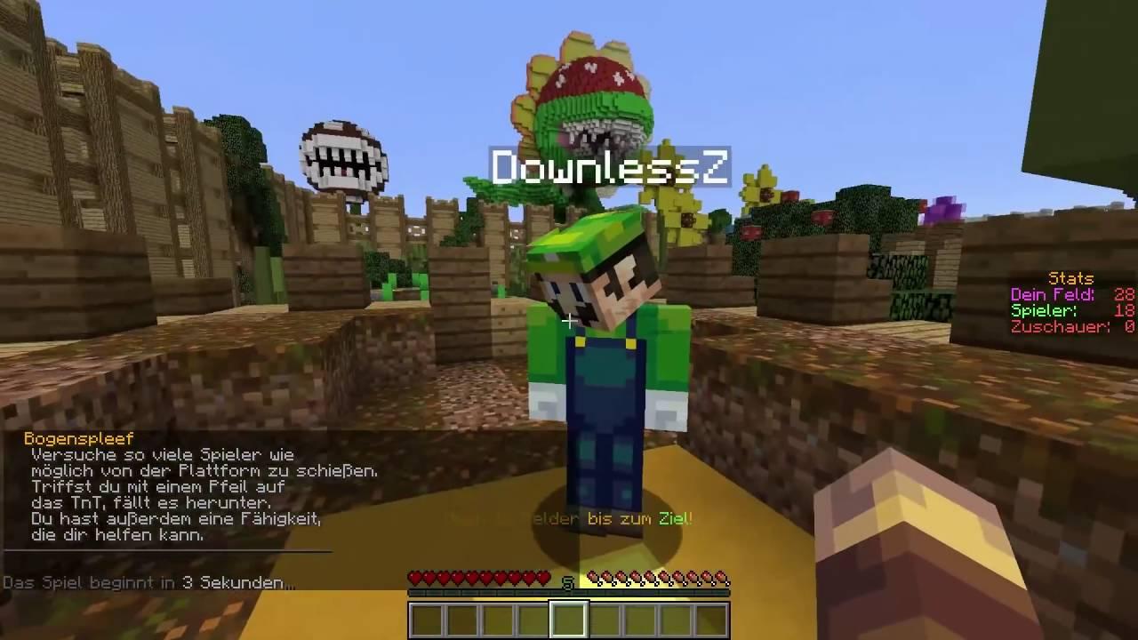 Aid Расекречен MinecraftMario Paty YouTube - Minecraft spiele schieben