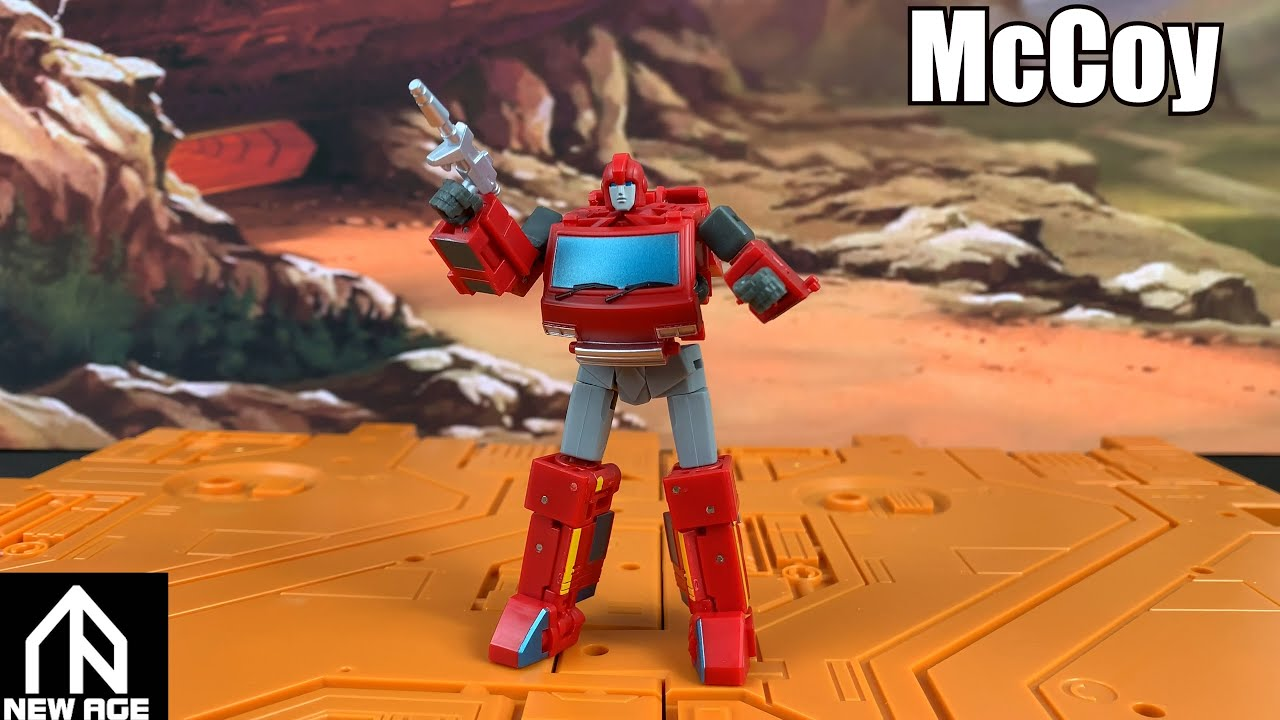 Newage McCoy (Legends Ironhide) Unboxing and Review by Enewtabie