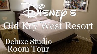 Disney's Old Key West Resort Deluxe Studio Room Tour