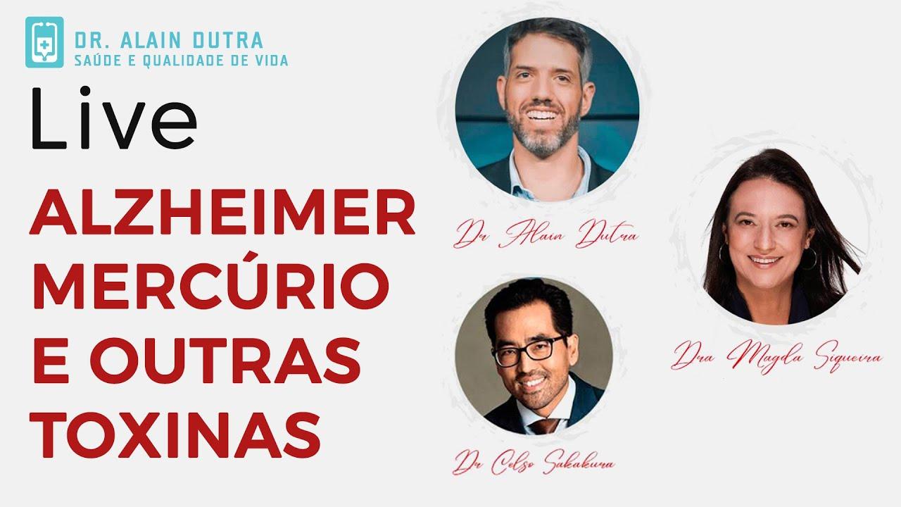 Mercúrio, Alzheimer e Saúde da boca - Live com dentistas