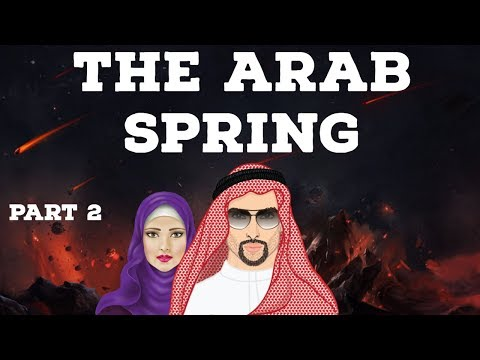 The Arab Spring Part 2 - Uprising for political reforms & social justice - North Africa & West Asia