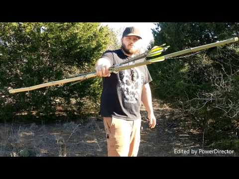 Primitive Bamboo Bush Bow