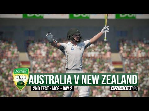 Australia V New Zealand - Boxing Day Test | Day 2 Highlights - Cricket 19