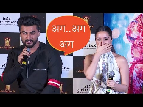Adorable! Shraddha Kapoor Teaching Arjun Kapoor How To Speak In Marathi