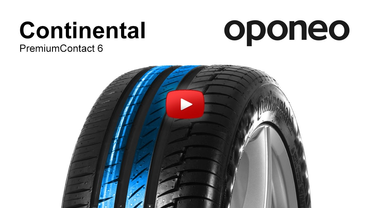 tyre continental premiumcontact 6 summer tyres oponeo. Black Bedroom Furniture Sets. Home Design Ideas