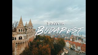 3 Days in Budapest - Budapest Travel Vlog and Guide