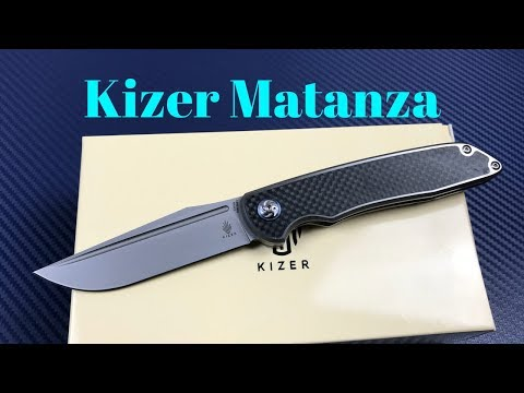 Kizer Matanza Ki4510A1 Nick Swan Design Framelock Knife   Completely Wonderful or just Incomplete ?