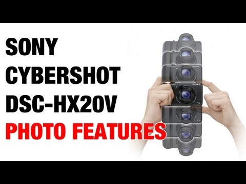 Sony Cybershot DSC-HX20V HX30V Photo Features