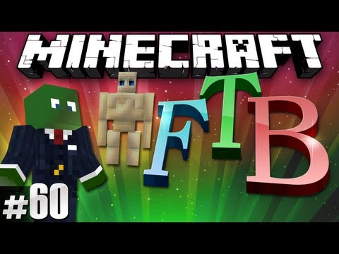 Minecraft Feed The Beast #60 - Tallow Golem!