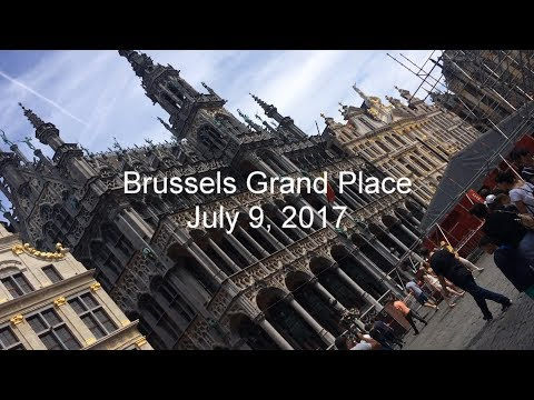 Brussels Grand Place July 9 2017