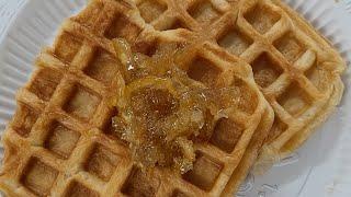 새콤달콤한 유자 크로플 만들기 Waffle, Crawp…