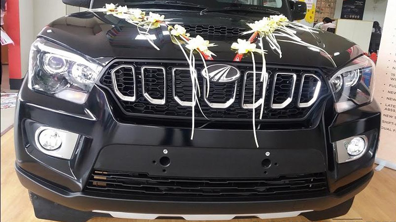 2018 Mahindra Scorpio S11 Black Color Review 2018 Mahindra Scorpio