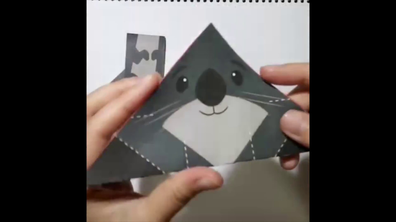 Cute origami sea otter step by step youtube cute origami sea otter step by step jeuxipadfo Choice Image