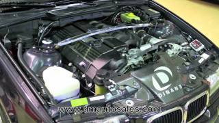 BMW E36 M3 Dinan Stage II Supercharged-D&M Motorsports Test Drive Review 2012 Chris Moran