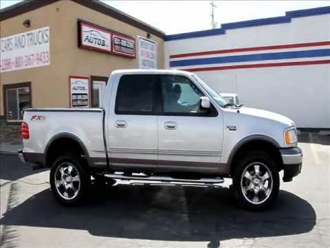 2003 ford f 150 super crew 4x4 5 4l triton v8 autos inc youtube. Black Bedroom Furniture Sets. Home Design Ideas