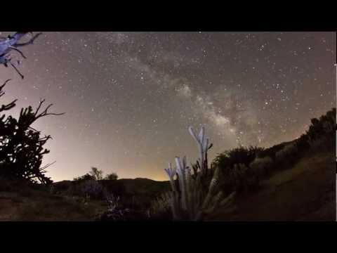 Milky Way Time-Lapse -- Palm Desert, CA